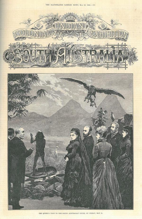 Front cover of The Illustrated London News, May 1886