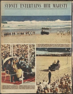 The Queen at Bondi Beach