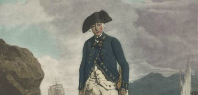 Painting of Captain Arthur Phillip