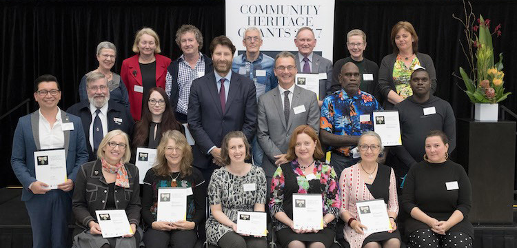 2017 Community Heritage Grants recipients