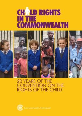 Front cover image of Child rights in the Commonwealth: 20 years of the Convention on the Rights of the Child