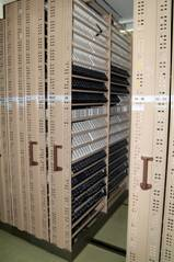 storage of newspapers on microfilm