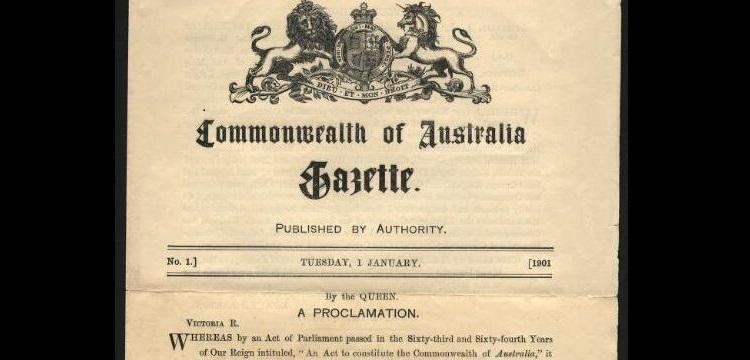 Government gazettes | National Library of Australia