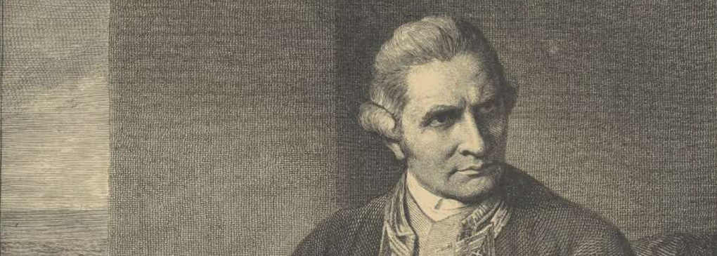 Sketch of Captain Cook