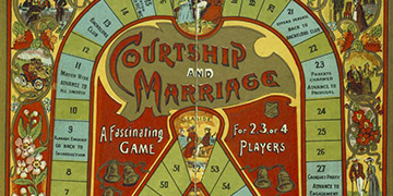 Image of a boardgame called Courtship and Marriage