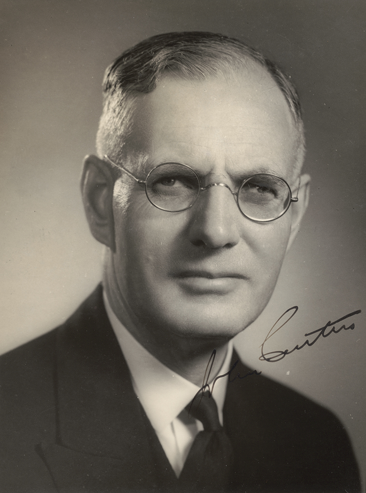 Autographed portrait of Prime Minister John Curtin