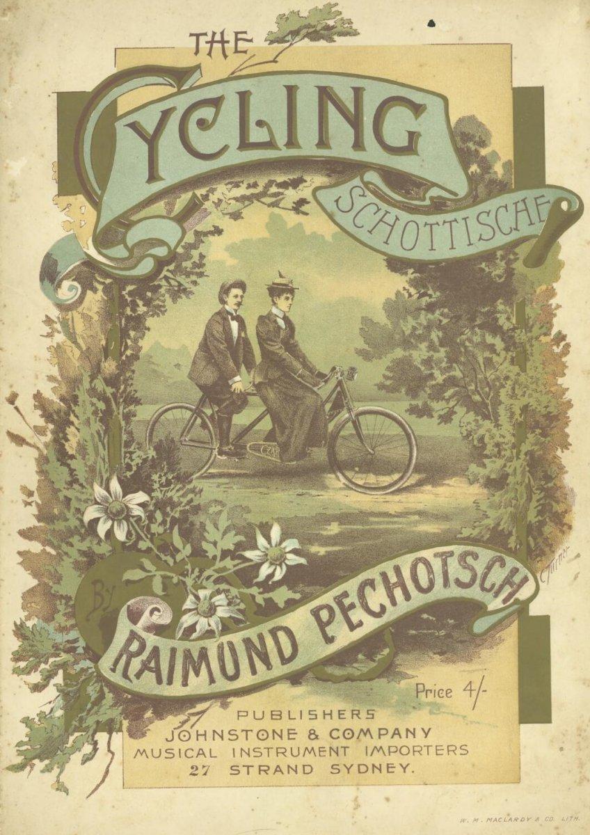 Pechotsch, Raimund. & Turner, Charles. & Johnstone & Company. & W.M. Maclardy & Co.  ([188-?]).  The cycling schottische.