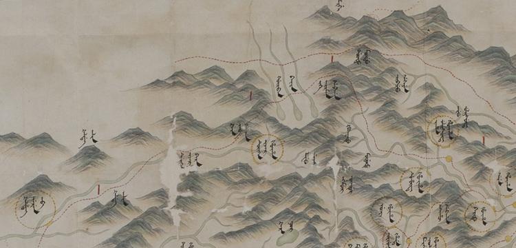 Map of Mulan (Beijing neiwaicheng quantu)