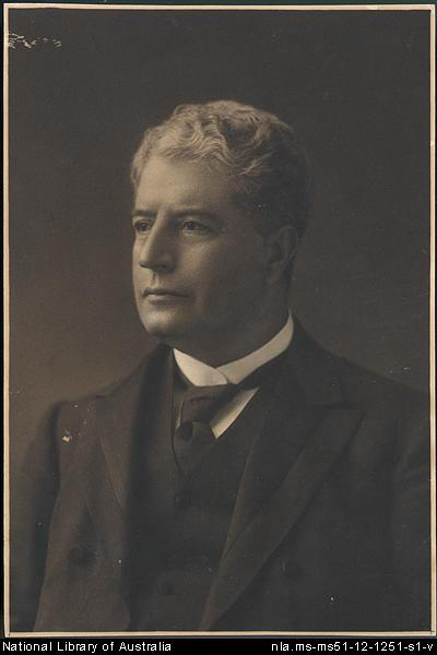 [Portrait of Edmund Barton as a mature man, 1]