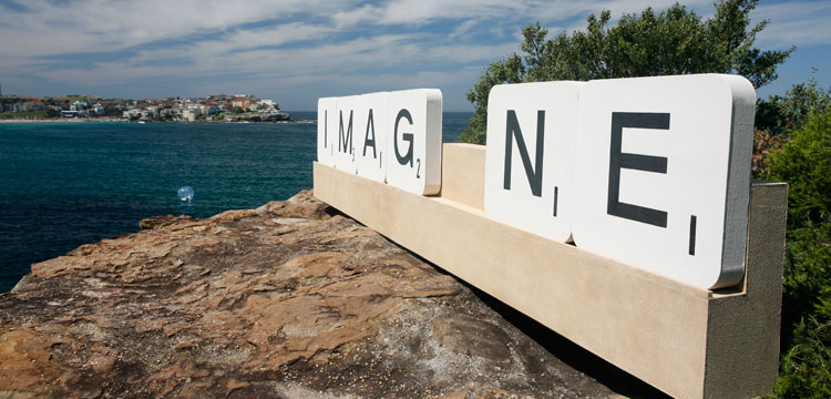 Imagine artwork in Sculpture by the Sea