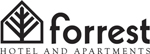 Logo for Forrest Hotel and Apartments