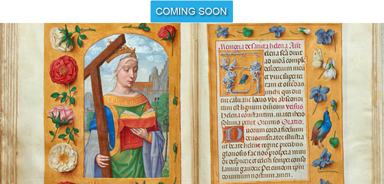 Coming Soon - St-Helena Prayer from Rothschild Prayerbook
