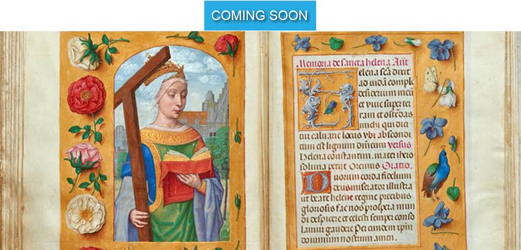 Coming Soon - St-Helena Prayer from Rothschild Prayerbook