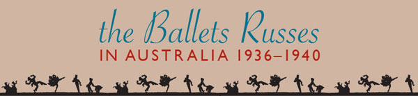 ballet russes exhibition banner