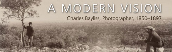 Charles Bayliss exhibition banner