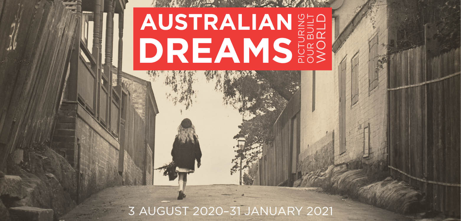 Australian Dreams Exhibition Branding