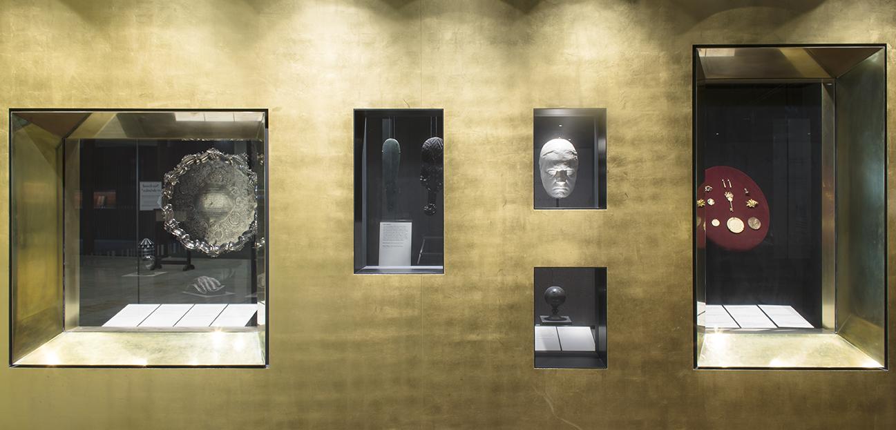 treasures gallery display
