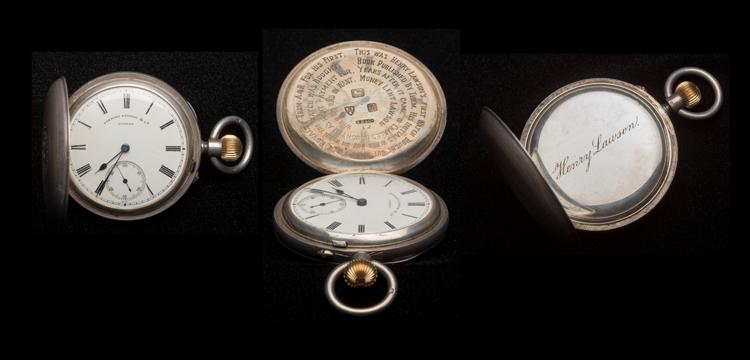 Henry Lawson's fobwatch