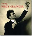 Book cover for Facing Percy Grainger