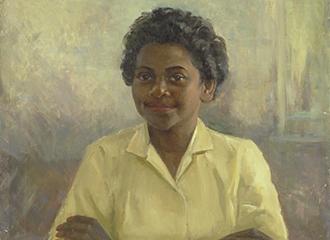 Portrait of Faith Bandler