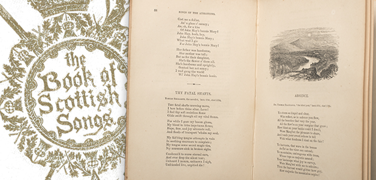 Charles Mackay (editor), The illustrated Book of Scottish Songs from the 16th to the 19th Century (London: Houlston and Wright, 1867)