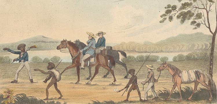 An Exploring Party in New South Wales, 1826