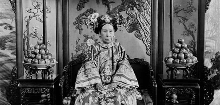 Photograph of the Empress Dowager Cixi