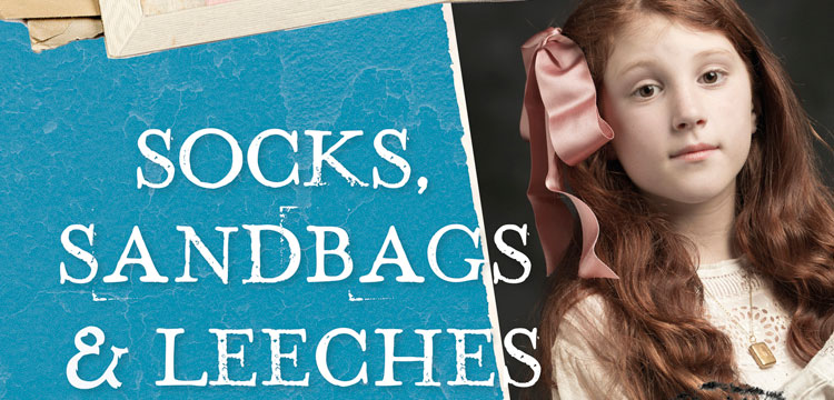 Detail of Socks, Sandbags & Leeches book cover