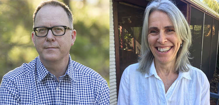 Garth Nix and Felicity Packard