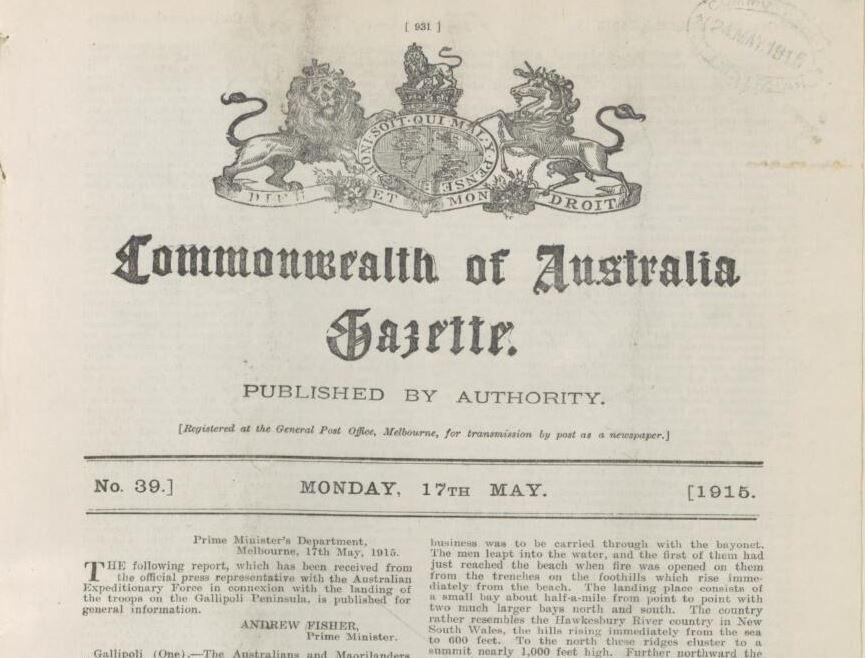 Gazette number 39