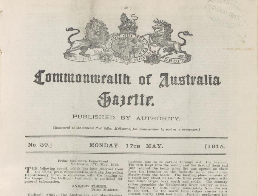 Gazette number 39