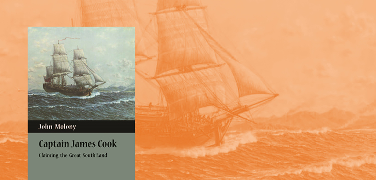 Captain James Cook by John Molony