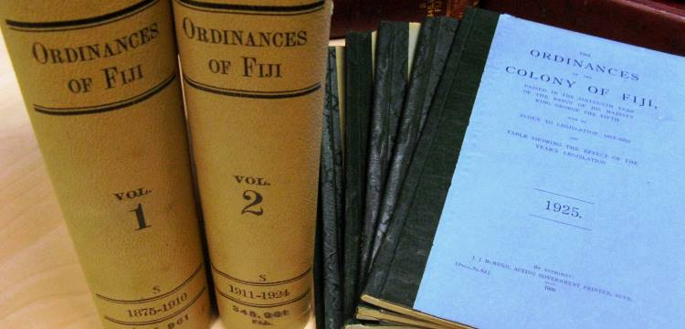 Ordinances of Fiji