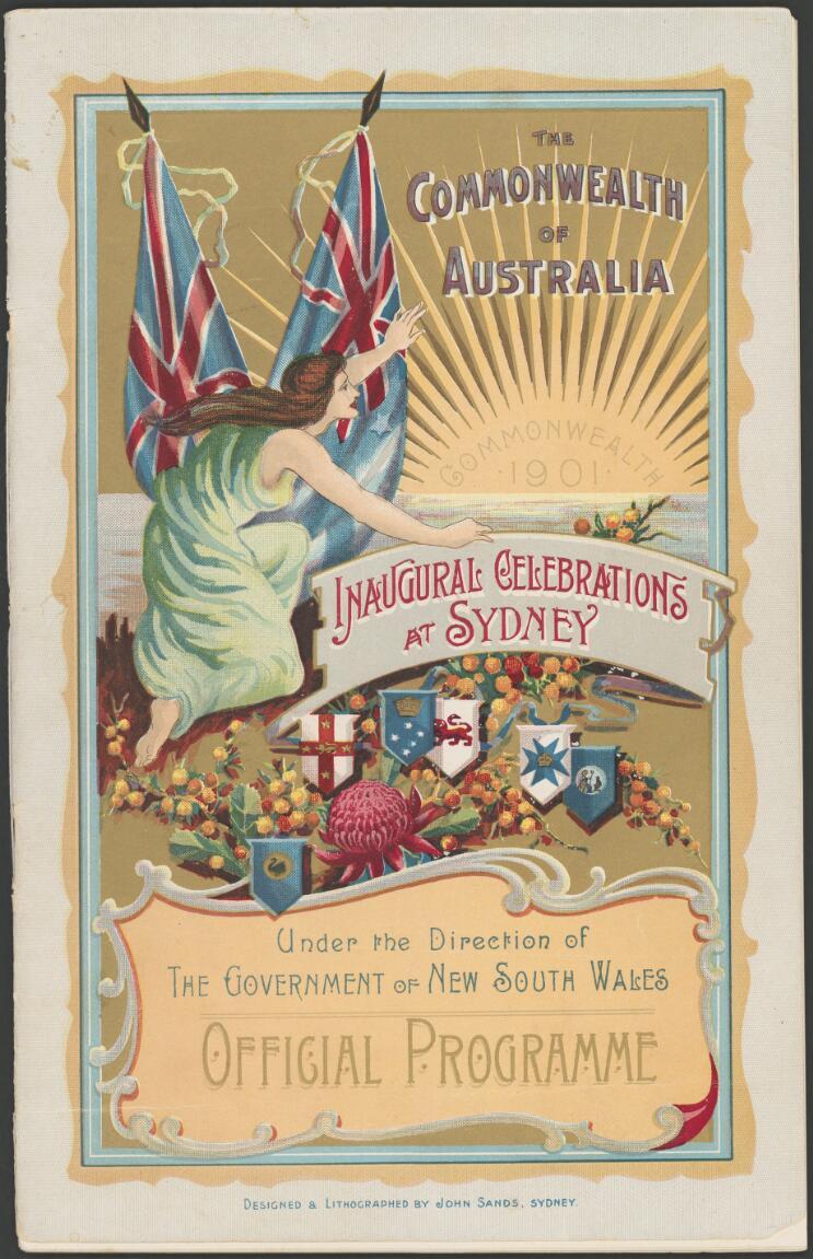 Federation 1901 : programs and invitations
