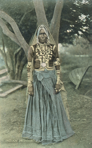 Indian woman. Fiji.