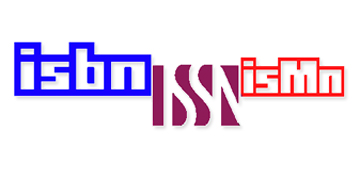 ISBN, ISSN and ISMN logos