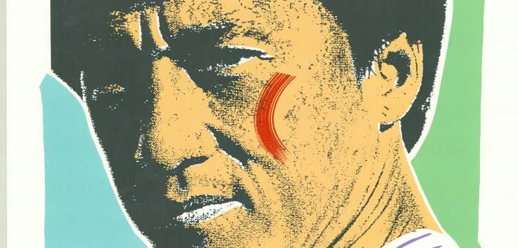 Print of Jackie Chan