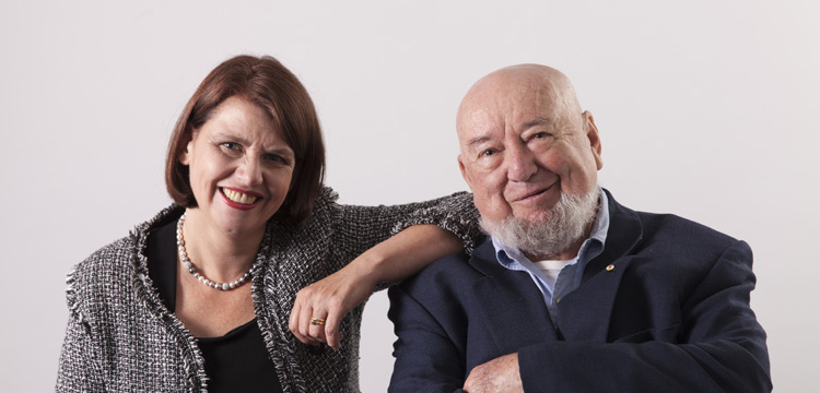 Meg & Tom Keneally, 2016. Image credit Penguin Random House