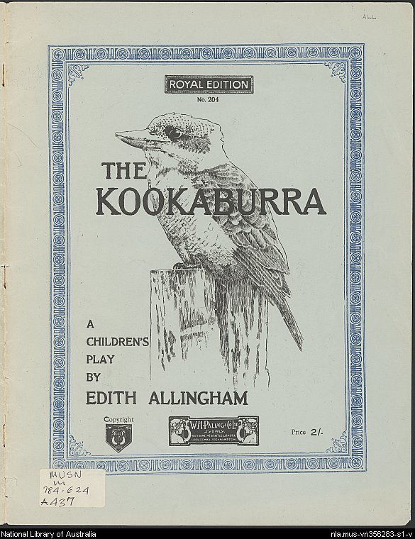 The Kookaburra: A Children's Play