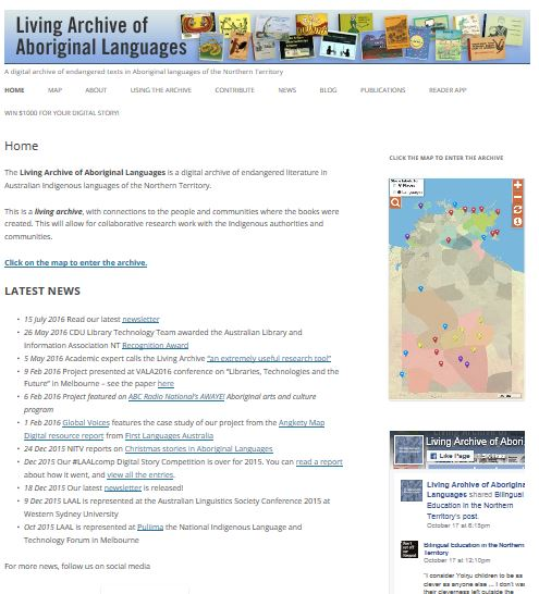 The Living Archive of Aboriginal Langauges