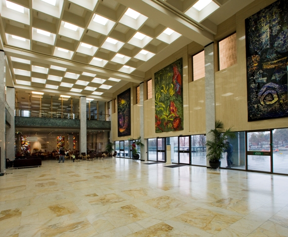 National Library foyer