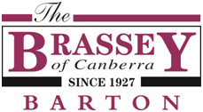 The Brassey of Canberra logo