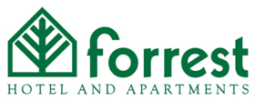 Forrest Hotel and Apartments logo