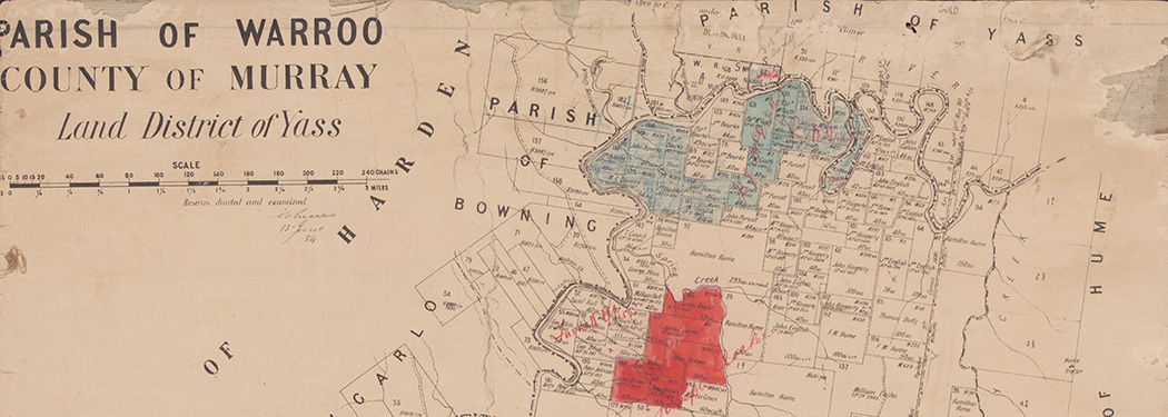 Detail of Parish of Warroo, county of Murray, land district of Yass