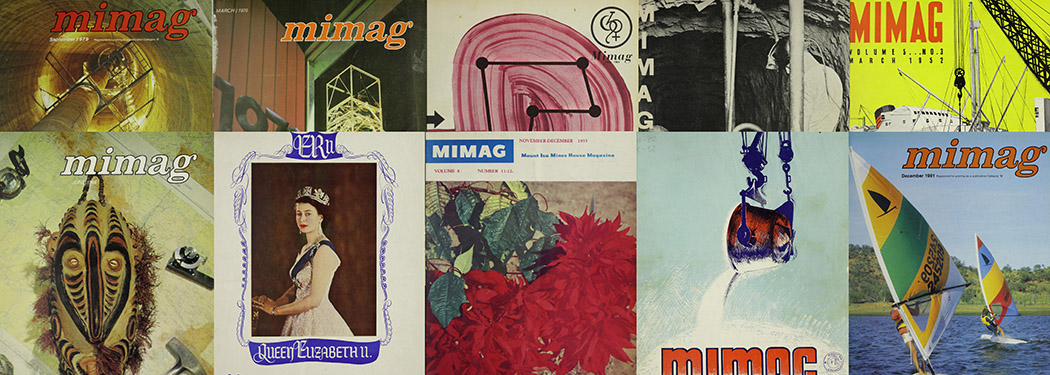 Covers of Mt Isa mining magazine