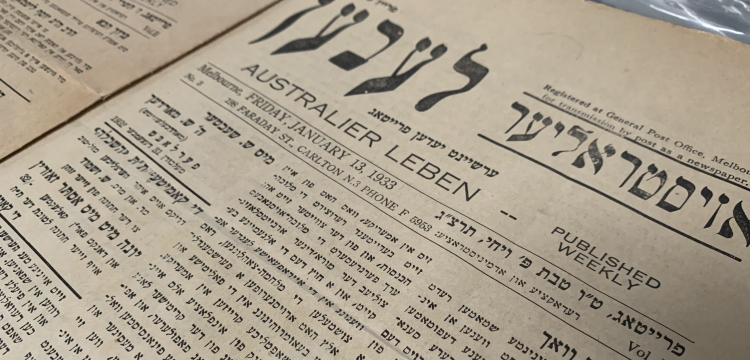 An edition of Australier Leben from Friday 13 January 1933