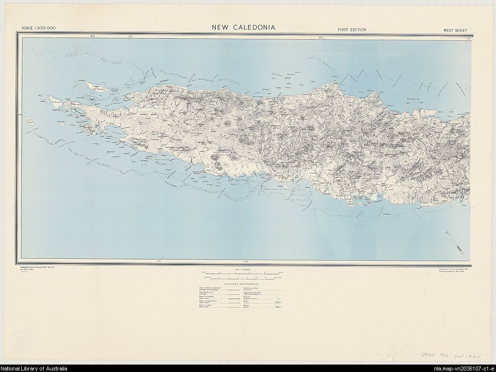 New Caledonia [cartographic material]