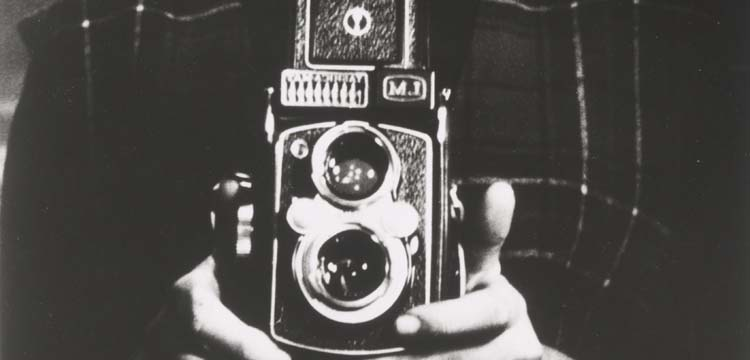Photograph of 1960s film camera