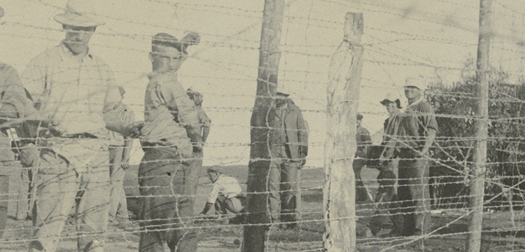 Internee Workers at Holsworthy Internment Camp