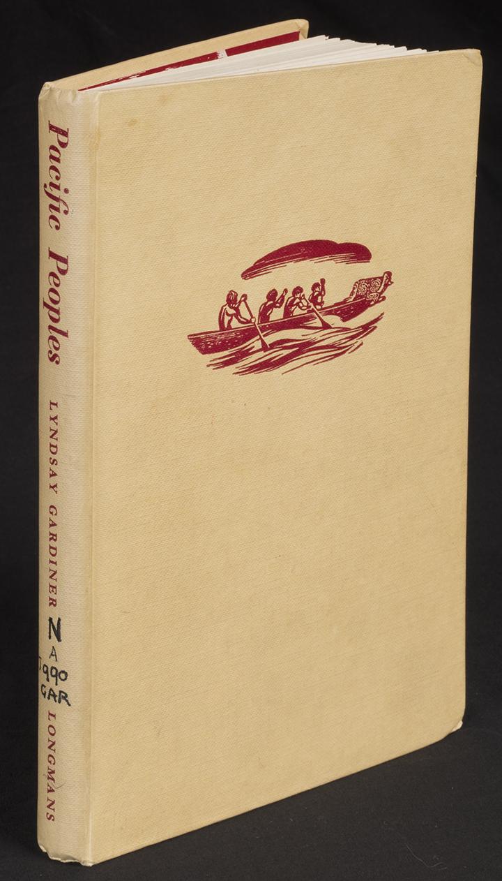 Pacific Peoples by Lyndsay Gardiner (Melbourne Longmans Green, 1957), nla.cat-vn373938